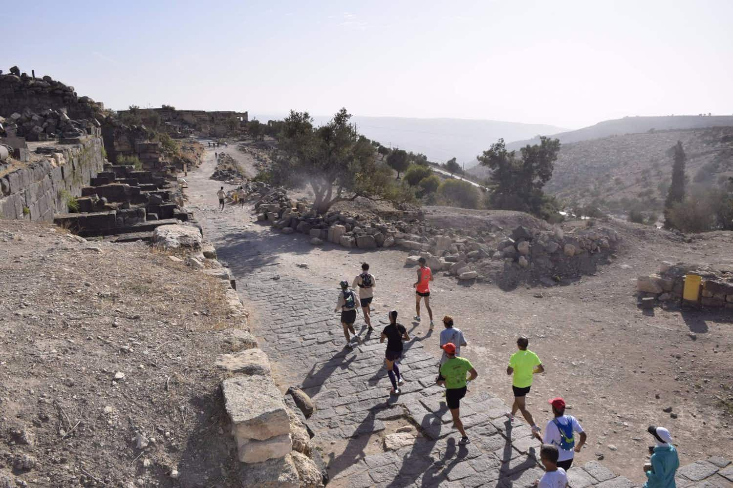 Athletes are attempting to run 650 km through Jordan in a 15 day challenge