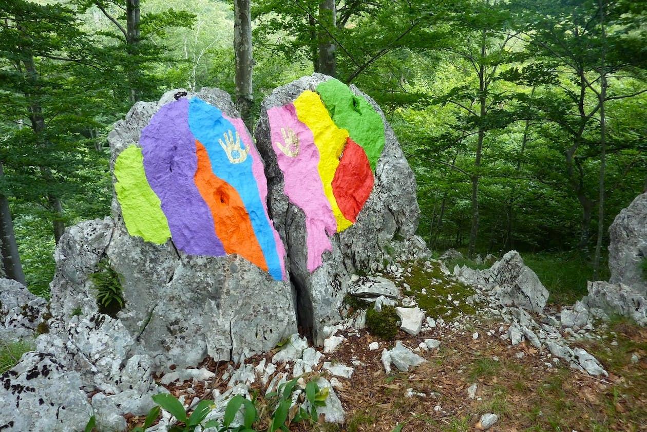 The Love Stone. Photo by Boris Pecigoš