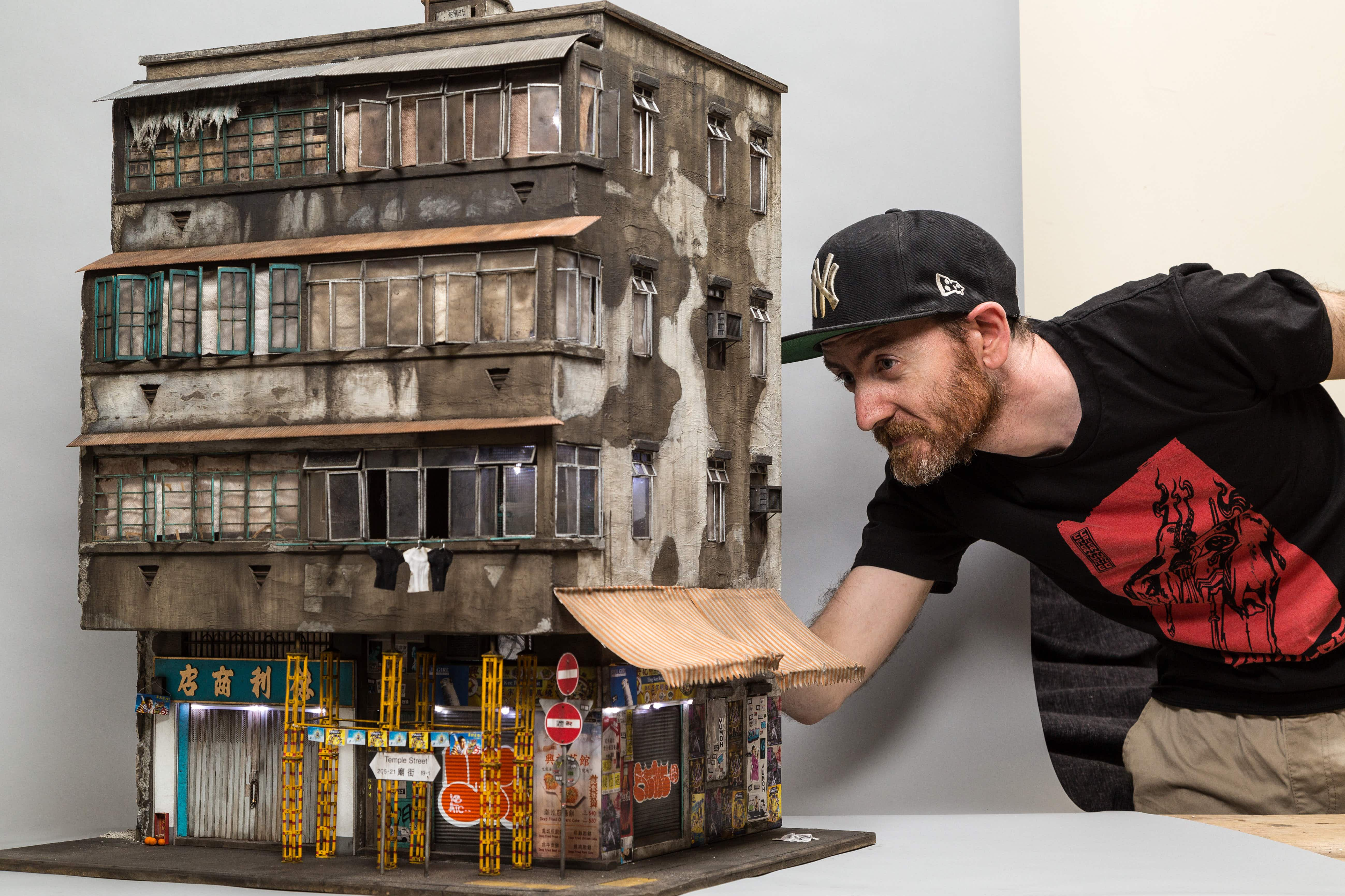 See the world's grittiest buildings created in miniature