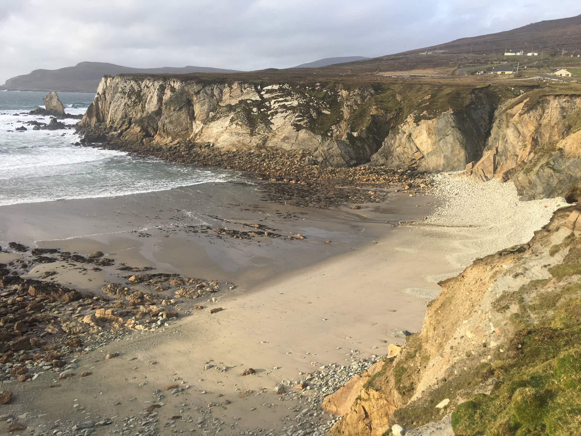 Ireland's Achill Island reclaims second lost beach after many years