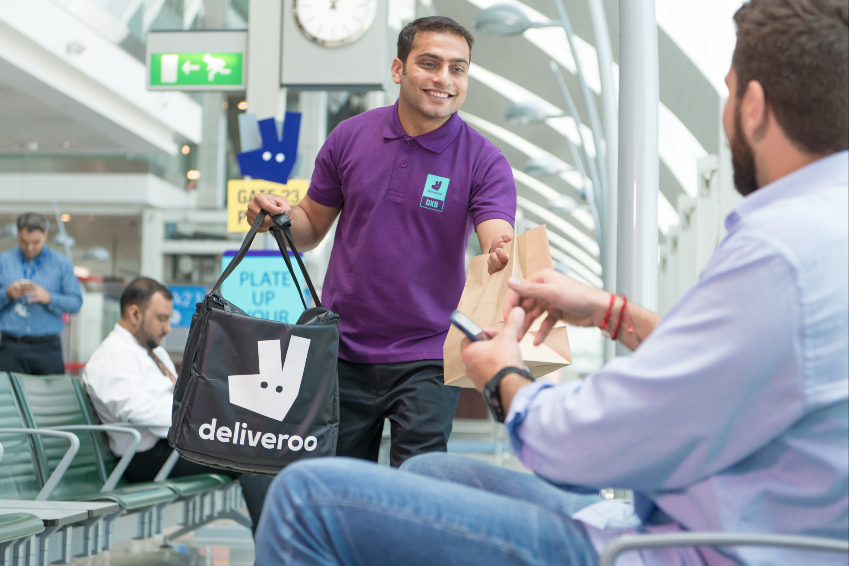 Order food to your boarding gate at Dubai International airport