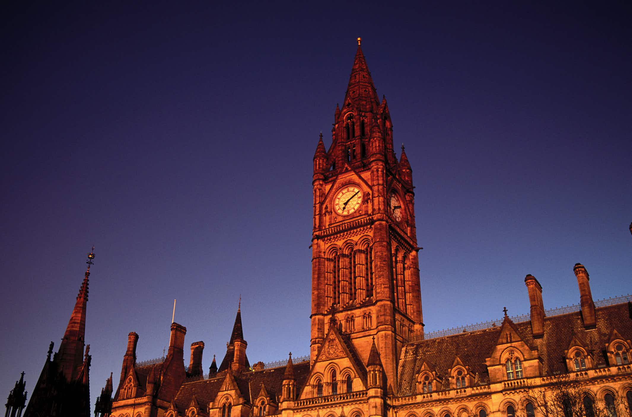 If you want to visit Manchester Town Hall before 2024, you need to hurry