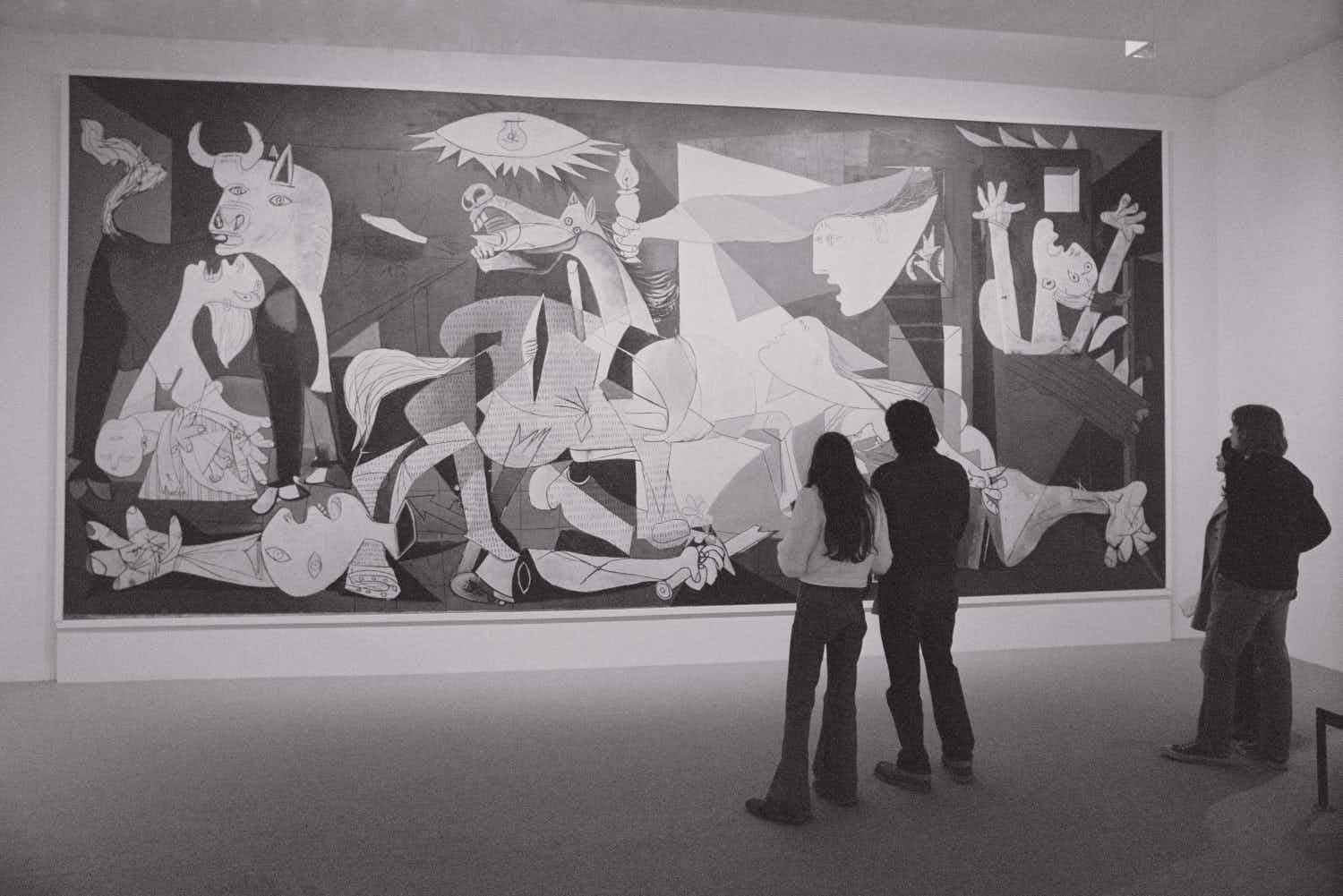 An online exhibition shows the hidden depths of Picasso's 'Guernica'