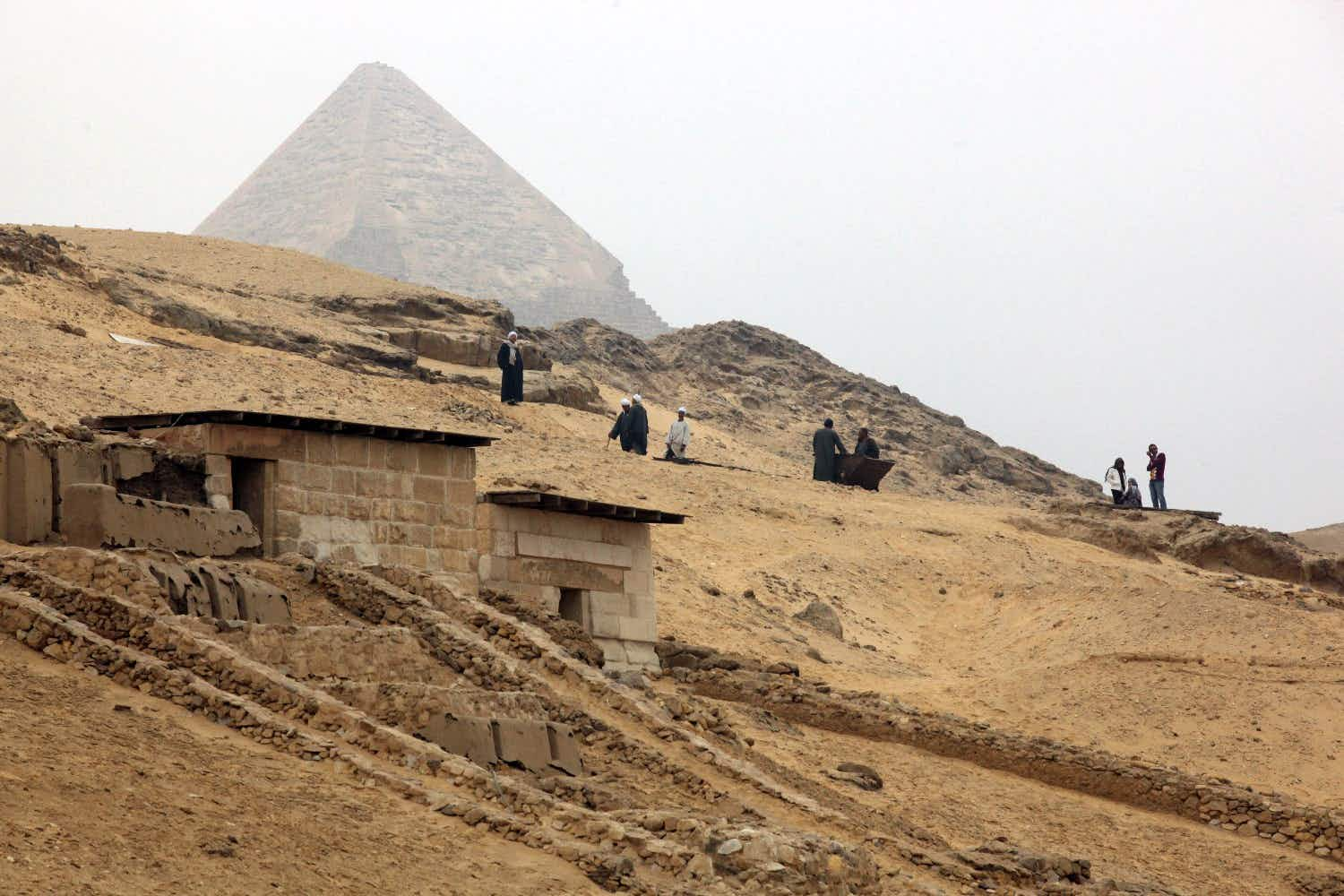 The 'cursed tombs' of Egypt are opening to the public for the first time
