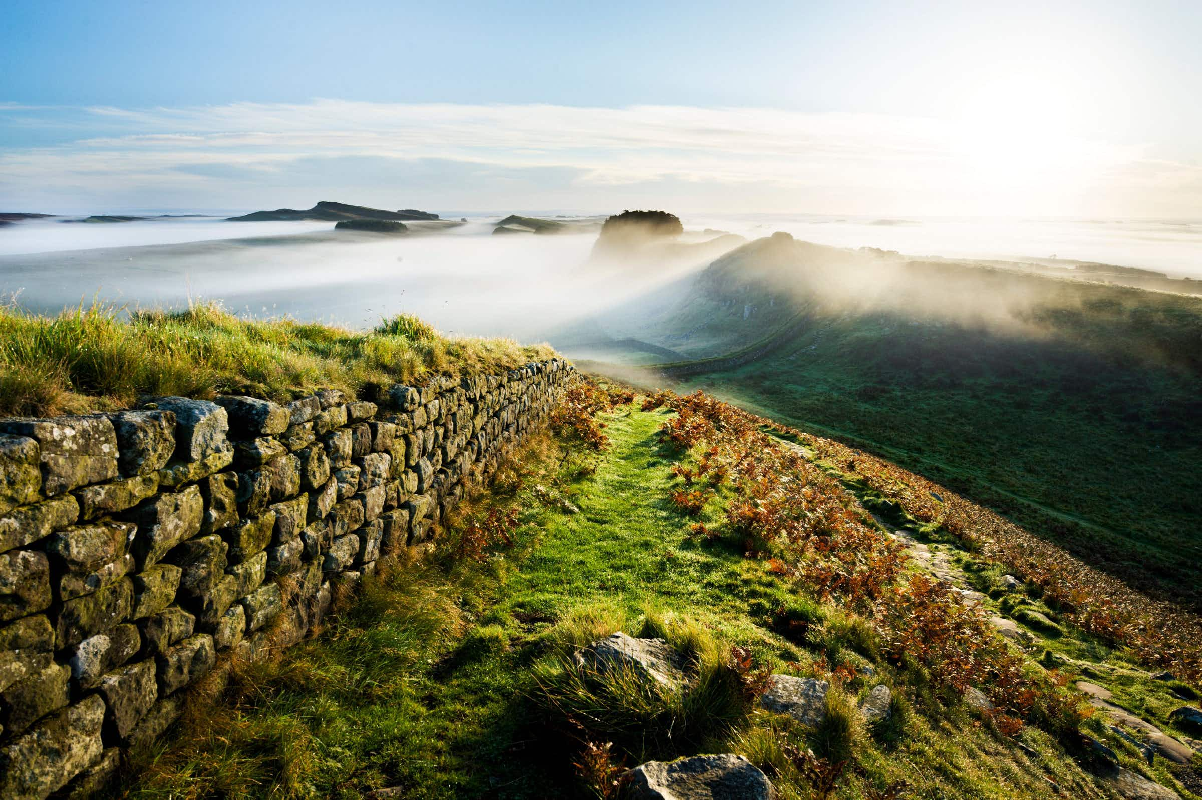 After almost 2000 years, Hadrian's Wall is in need of some repairs