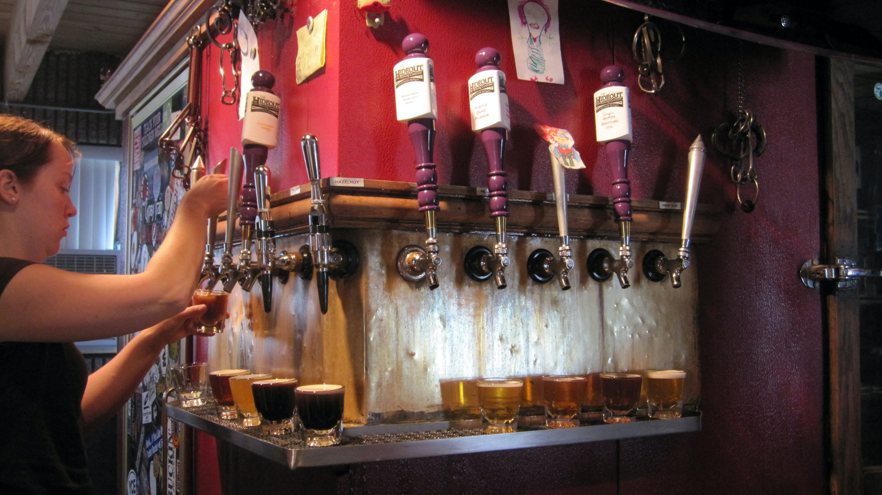 #9 - Grand Rapids, Michigan. Breweries such as The Hideout helped former President Gerald Ford's hometown win a recent Best Beer Scene award, boosting its hipster cred. Image: Chicago Tribune/MCT via Getty Images