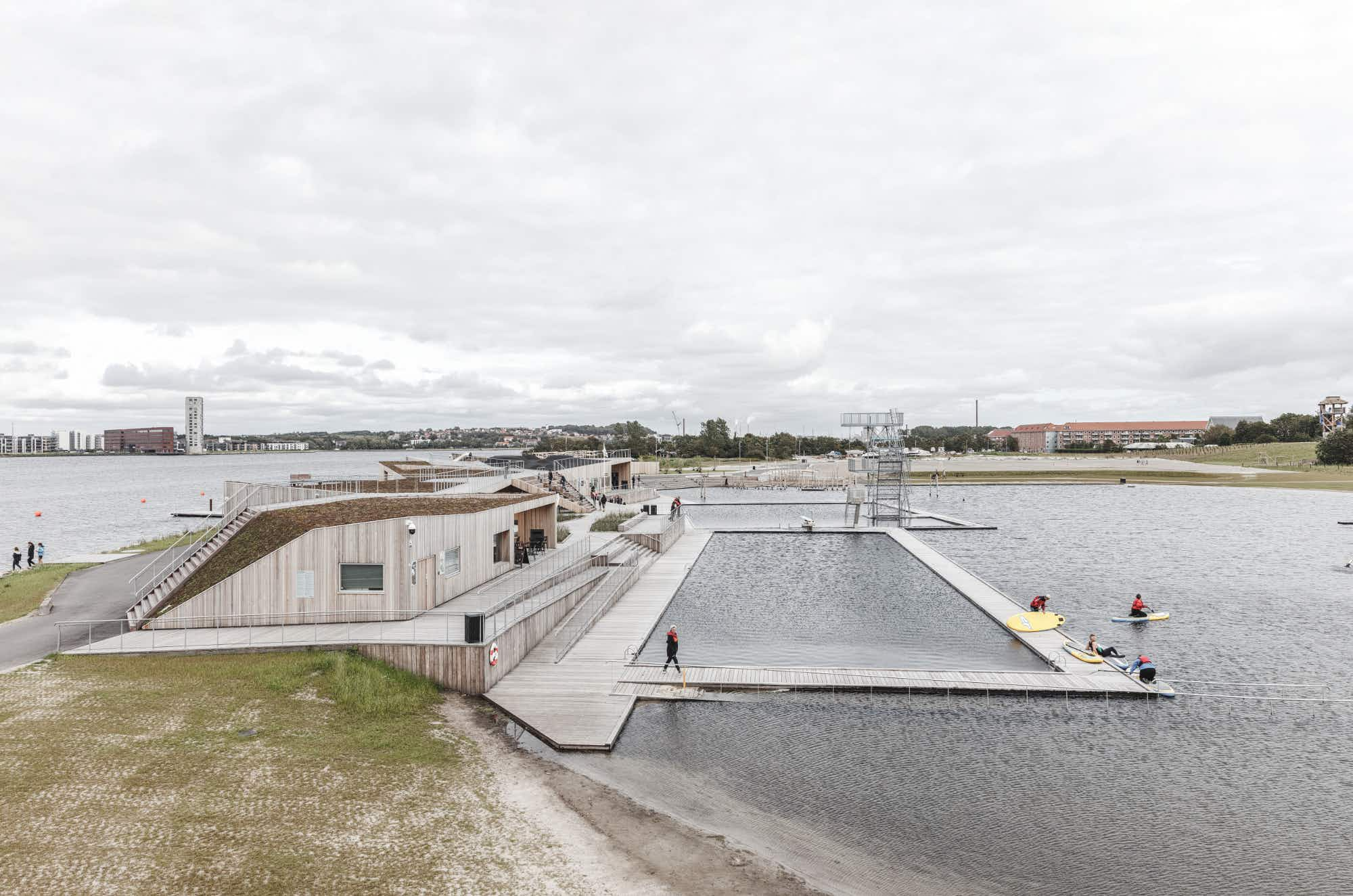This dynamic new space on Denmark's Limfjord is a wonderland of activity