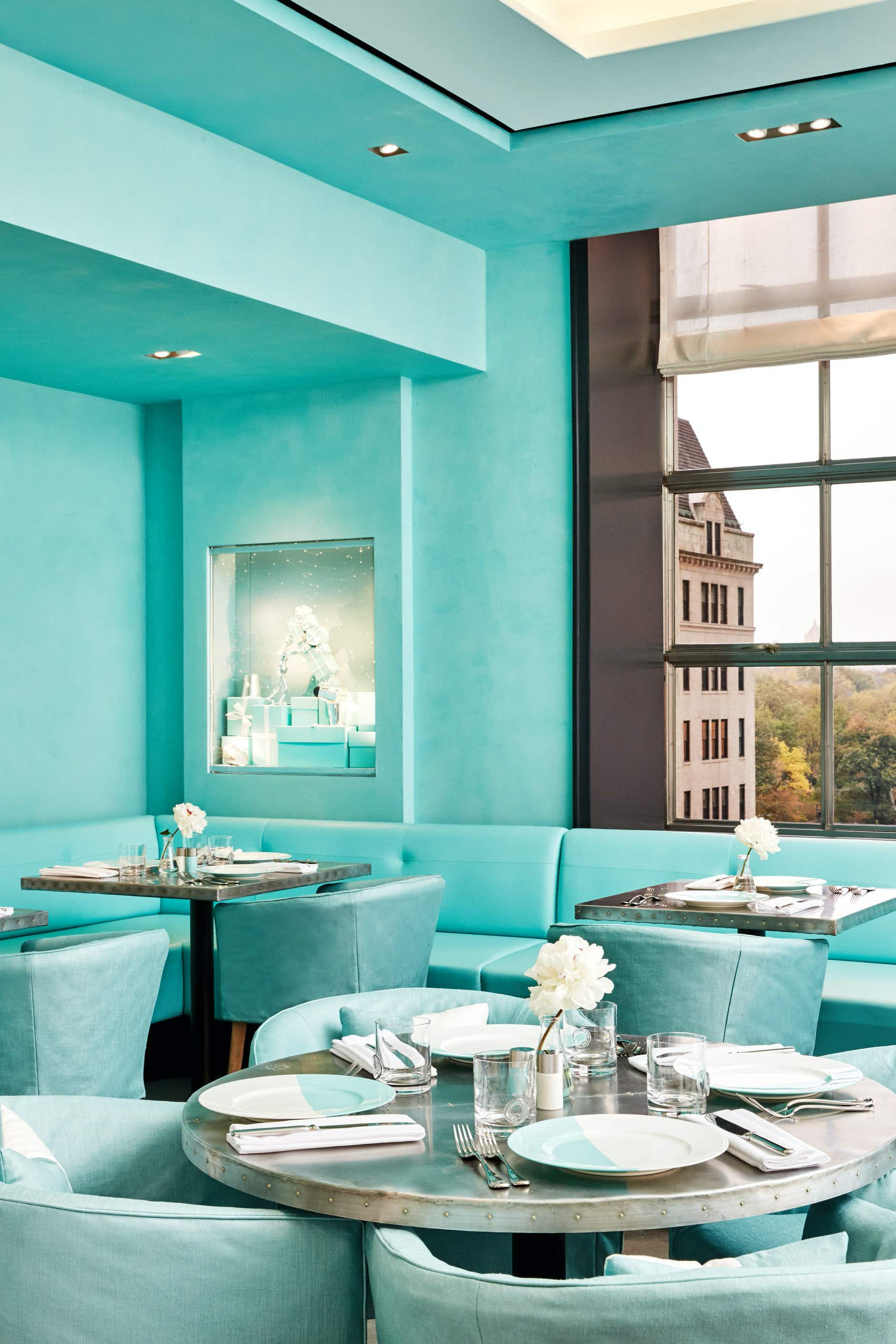 Finally you can have Breakfast at Tiffany's at the company's NYC cafe