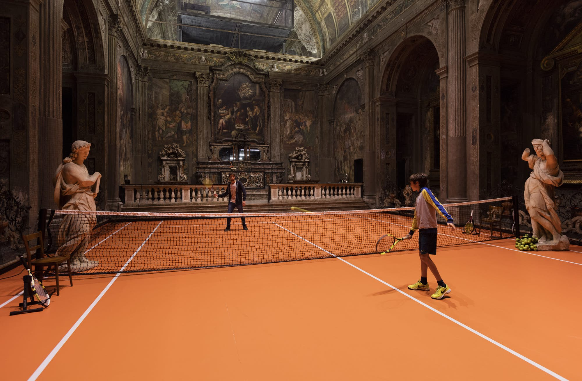 Practice Your Serve At A Tennis Court Inside A 16th Century Church In Milan Lonely Planet