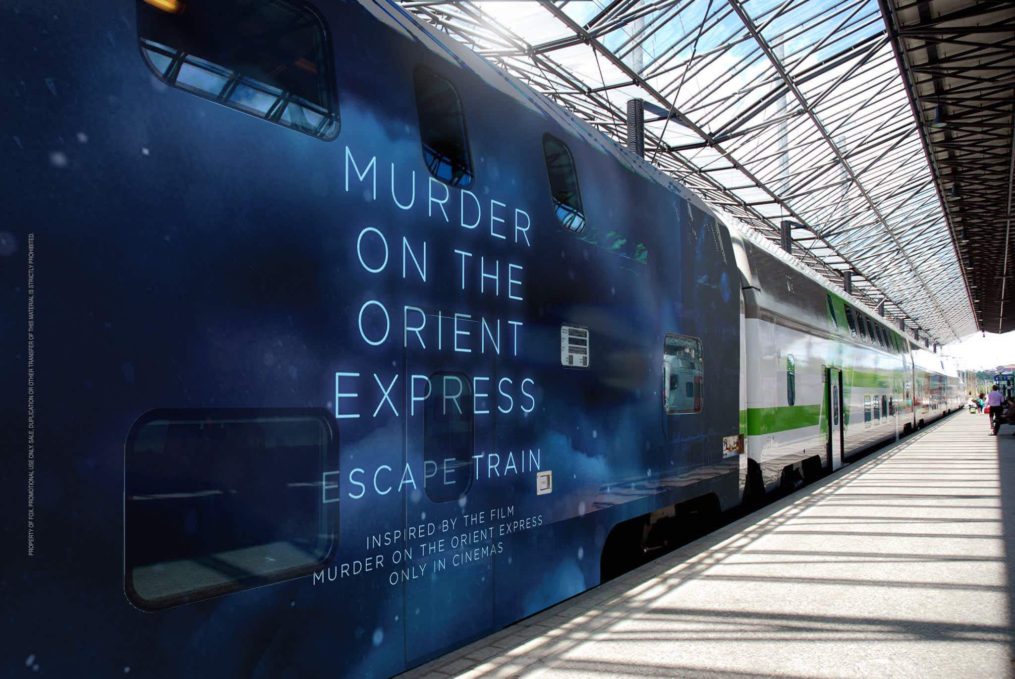 Solve a Murder on the Orient Express on this escape-room train in Finland