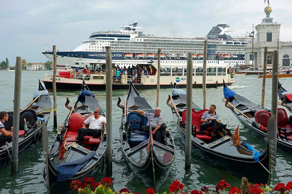 Venice plans to divert giant cruise ships away from city centre