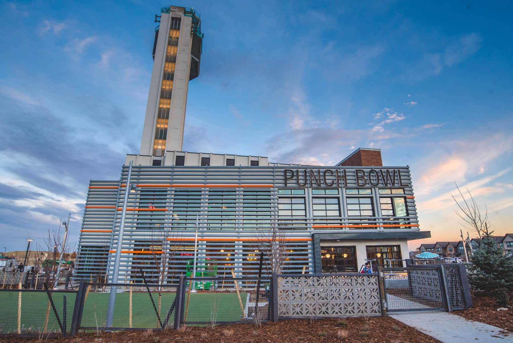 You can now dine in a renovated airport control tower in Denver