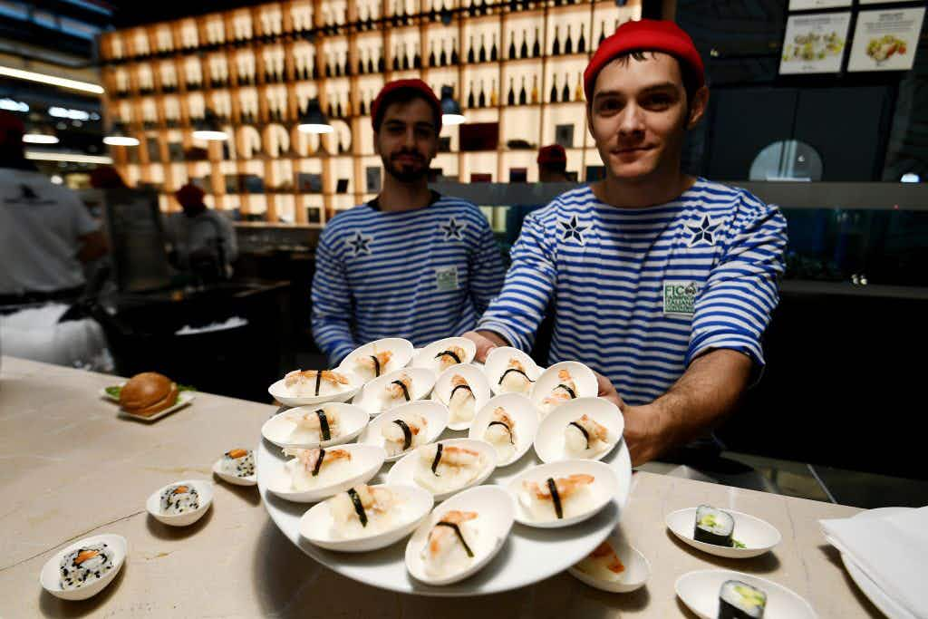 Eataly a theme park for food lovers opens in Bologna