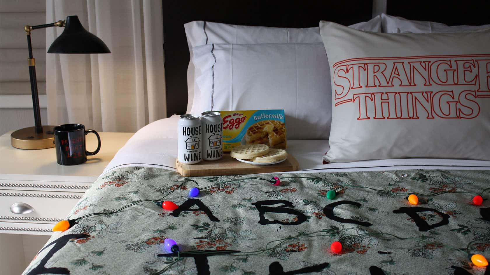 You can stay in a Stranger Things-themed hotel room in New York