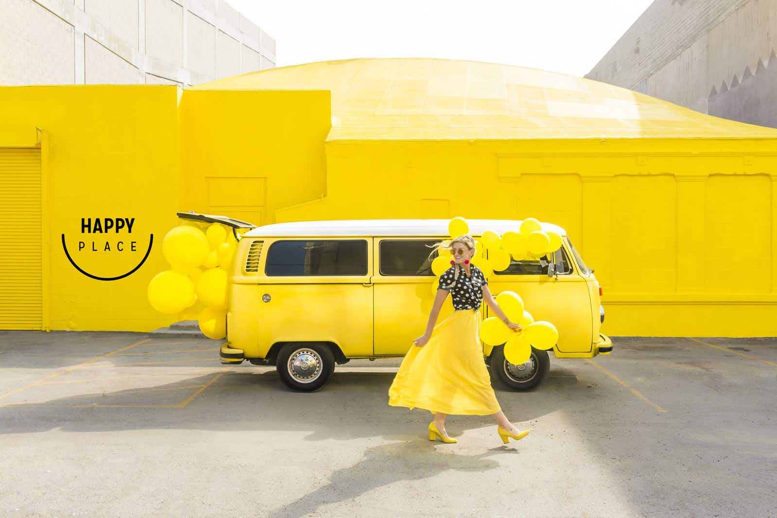 This Instagrammable LA pop-up wants to bring you to a Happy Place