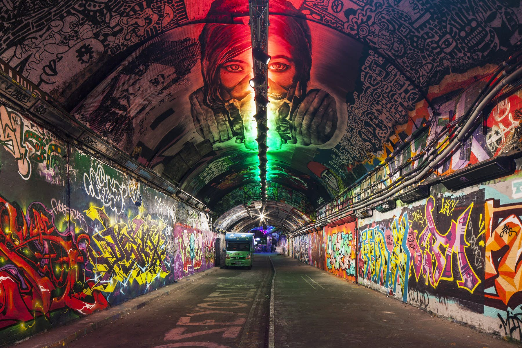 London's famous graffiti tunnel to become a focal point of a ...