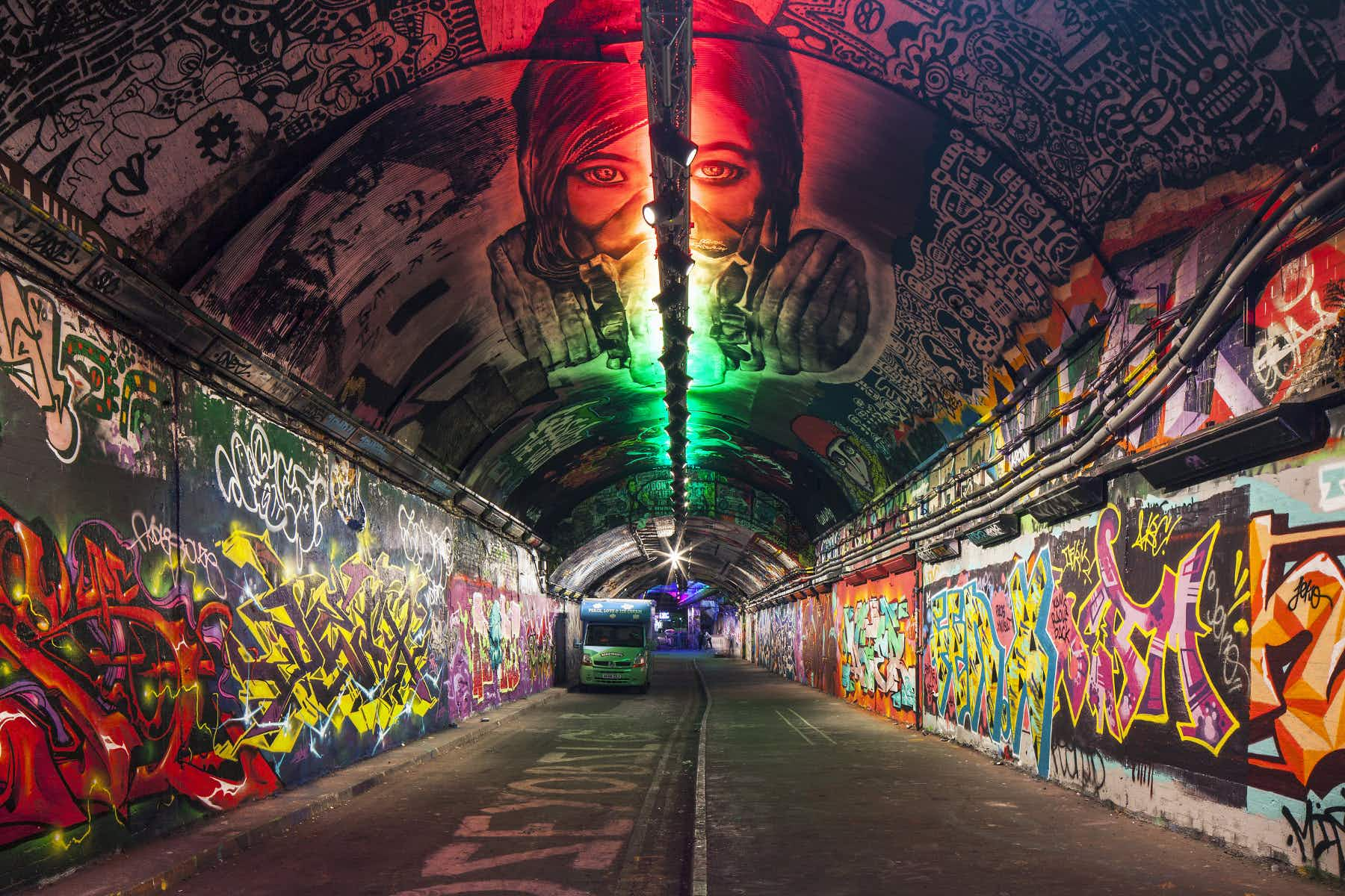 London's famous graffiti tunnel to become a focal point of a regeneration project