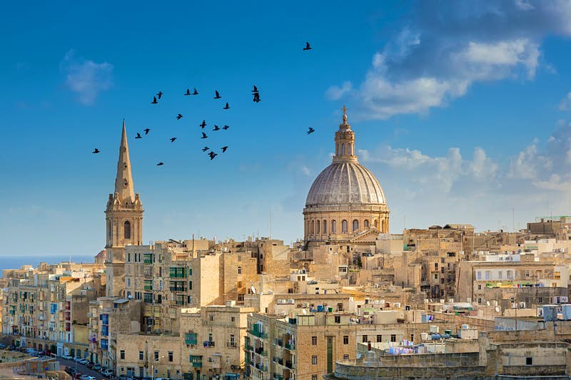 No 6. Malta. Malta packs glorious variety into its small archipelago. You'll find prehistoric temples, fossil-studded cliffs, hidden coves, thrilling scuba diving and a history of remarkable intensity.  Image: Anton Zelenov/Getty Images