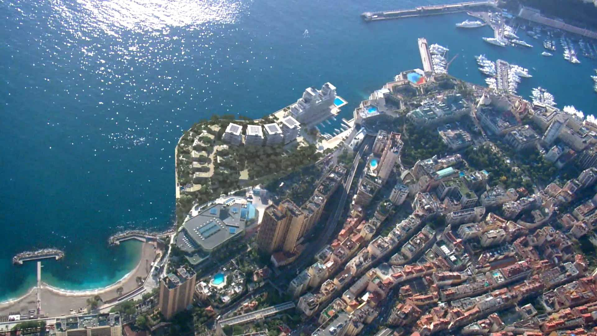 Monaco set to expand thanks to the reclamation of land from the Med