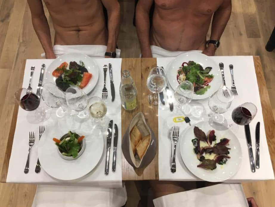 Grab a seat at Paris' first ever naturist restaurant before it closes