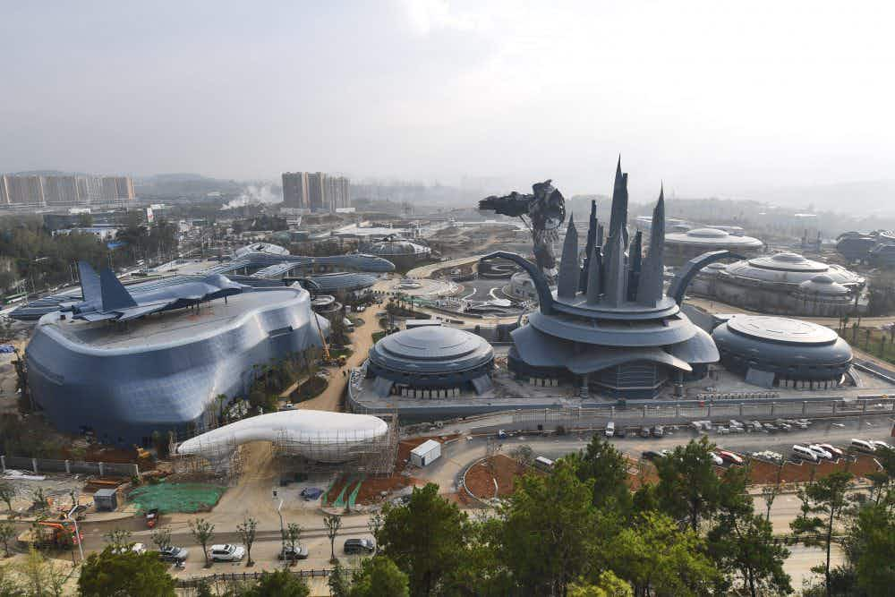 Travel to the future in China's huge new virtual-reality theme park