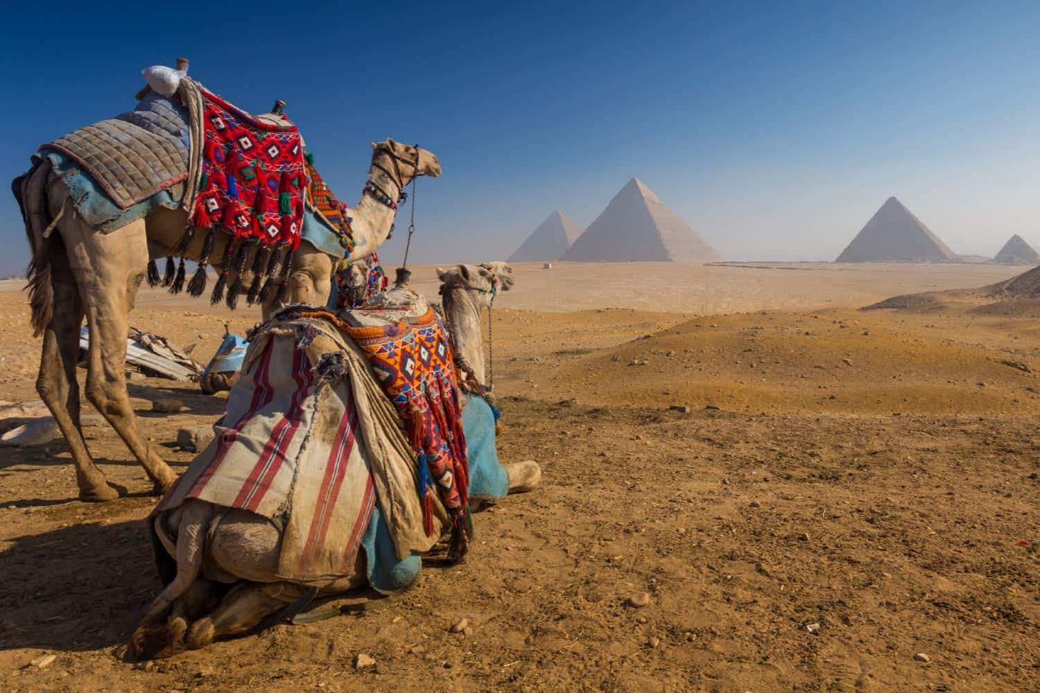 Researchers have discovered a large void in the Great Pyramid of Giza
