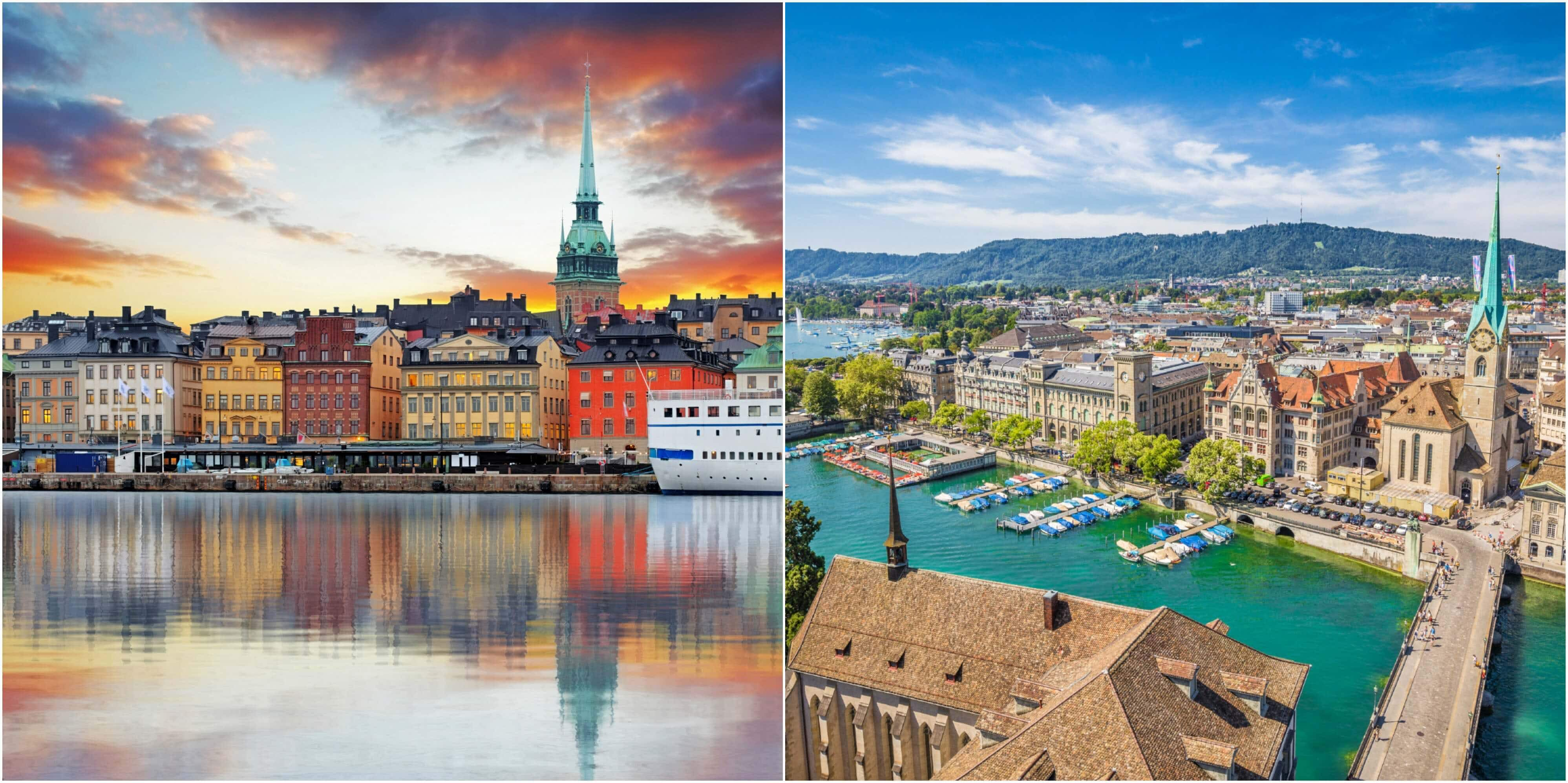 Come visit Swederland! Airline wants to end confusion between Sweden and Switzerland