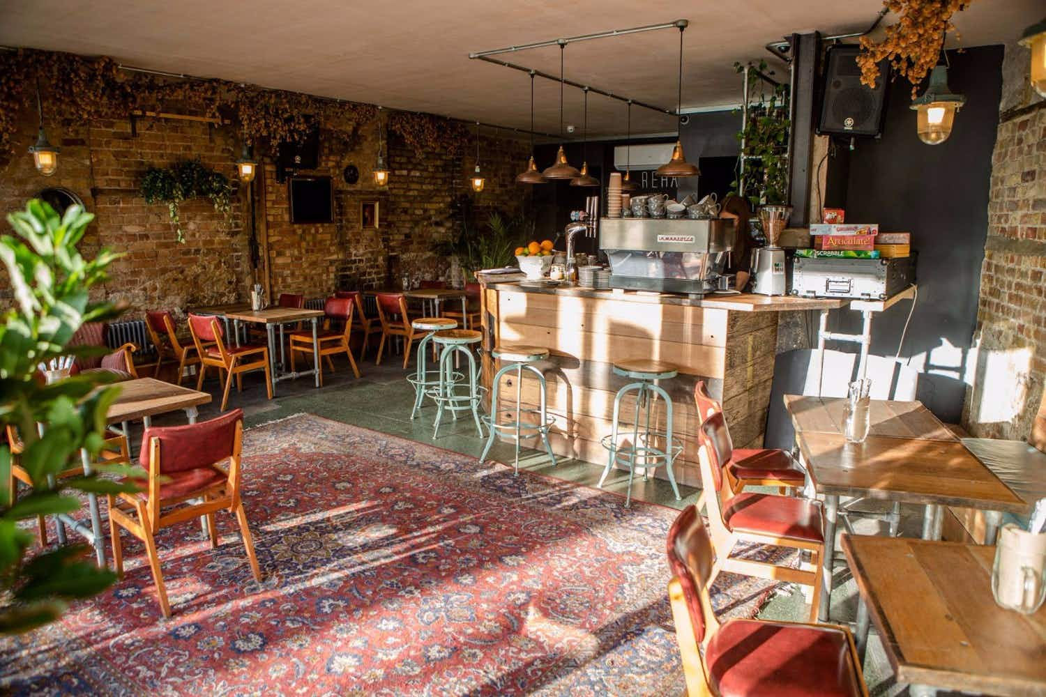 Cure that hangover at the newly opened medicinal vegan bar and café  in London