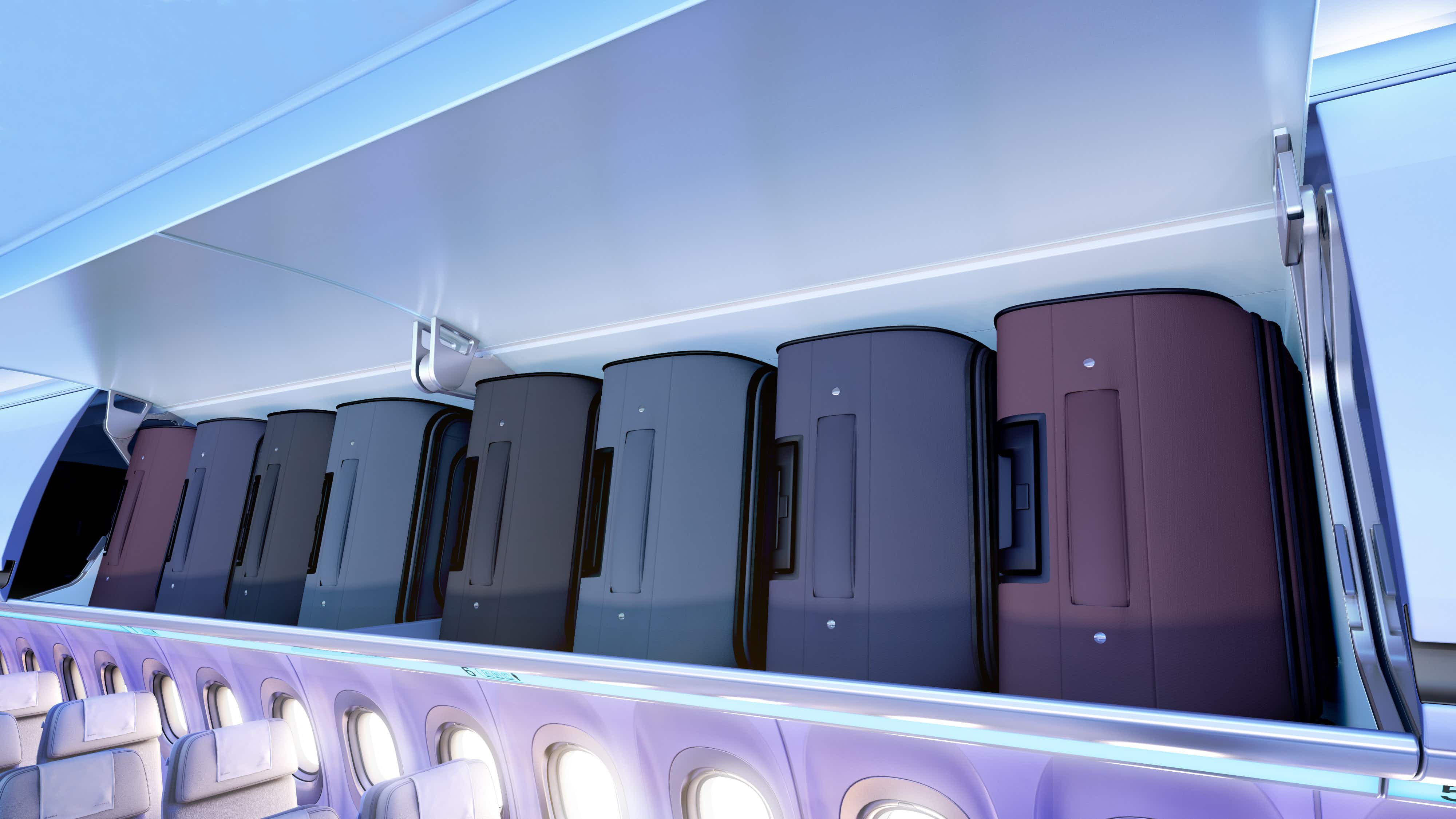 The rush for overhead space will soon be over on some of this US airline's fleet