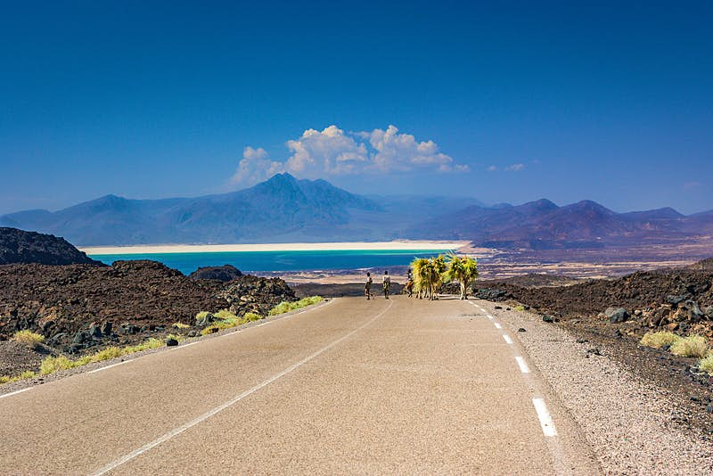 No 4. Djibouti. Few countries in the world, with the possible exception of Iceland, offer such weird landscapes as this tiny country on the horn of Africa  – think salt lakes, extinct volcanoes, and sunken plains. Image: Getty