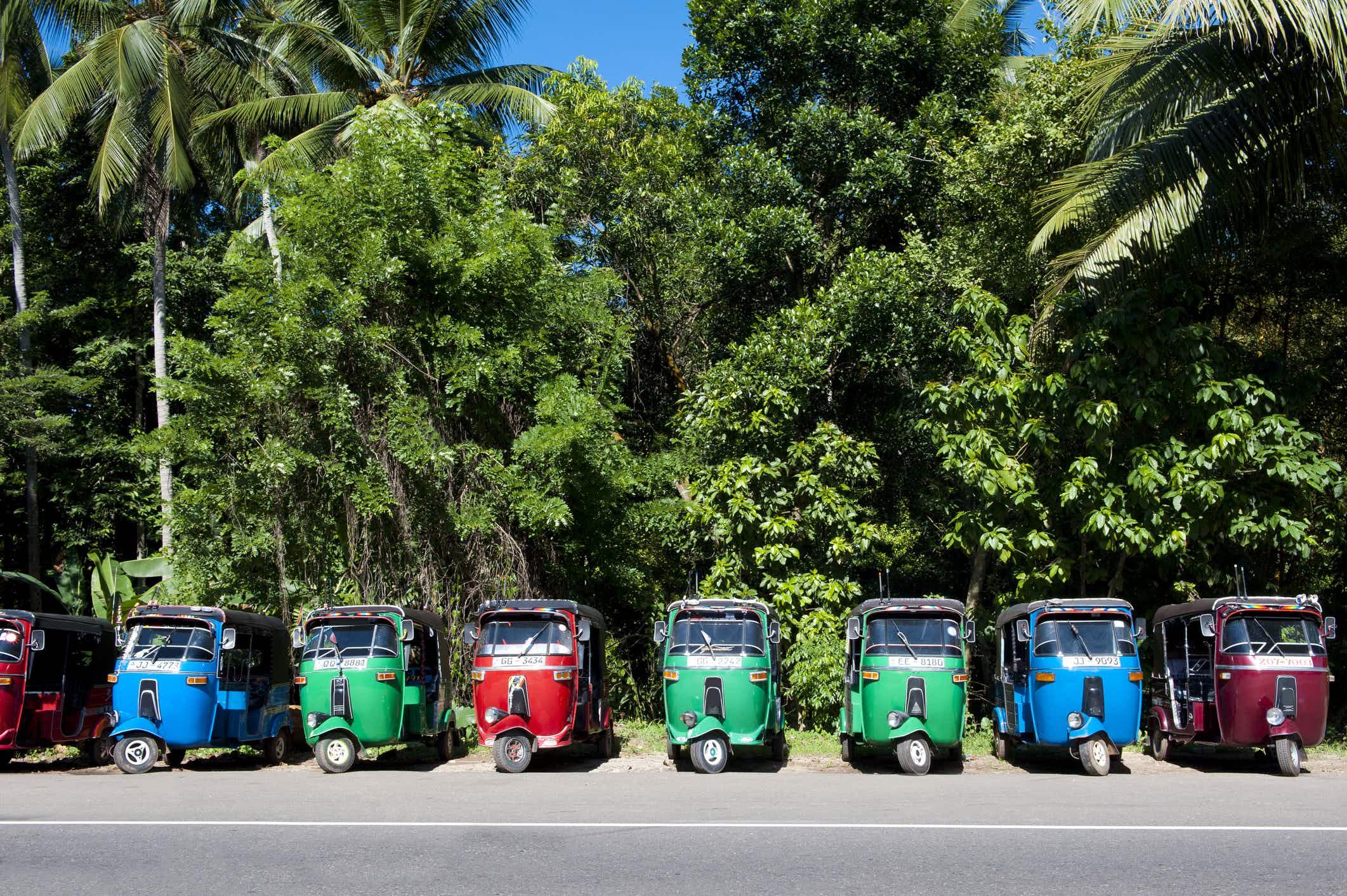 Sri Lanka's tuk-tuks to go green and tourist-friendly in 2018