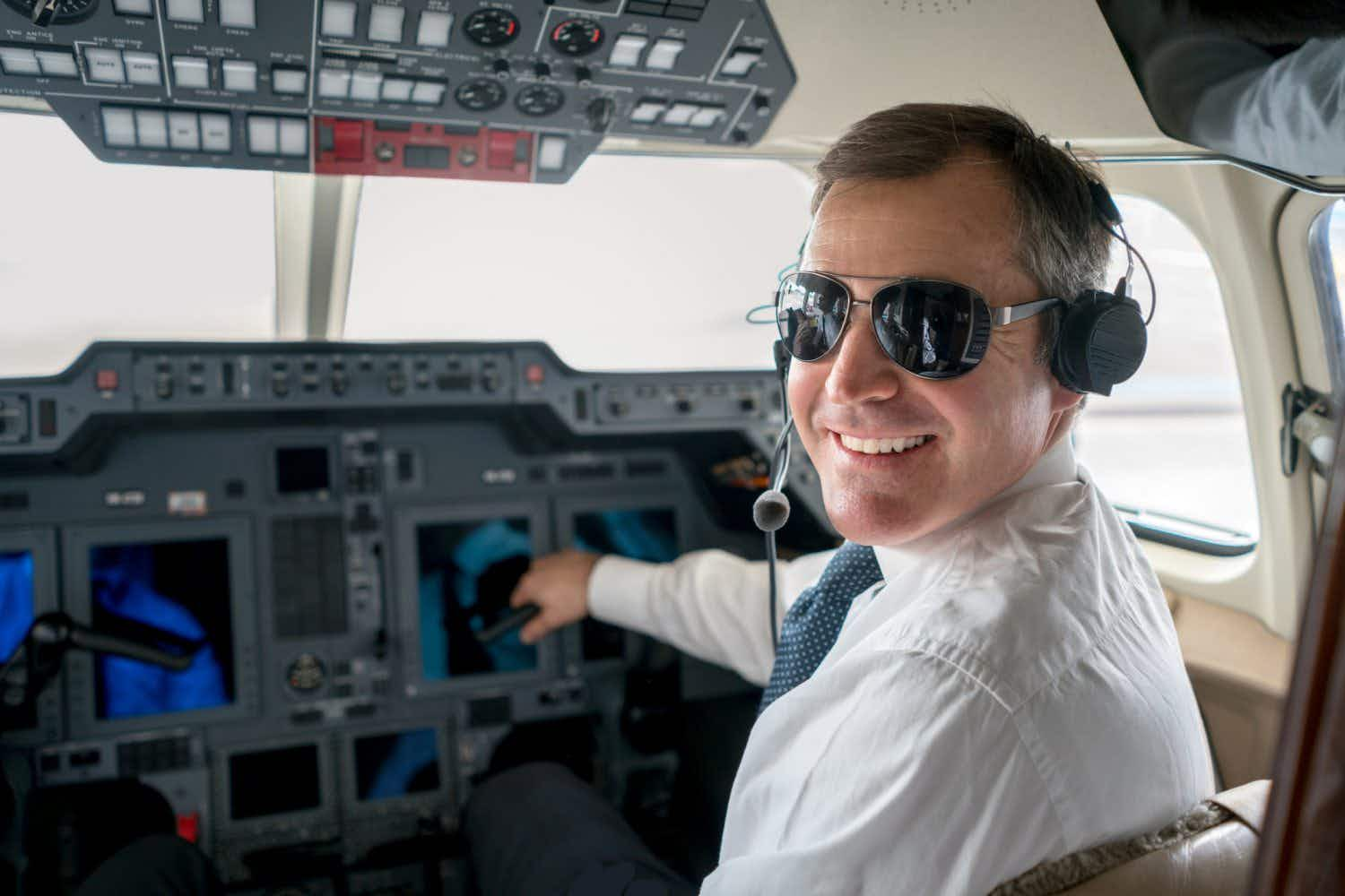 Which accent do passengers find sexiest for pilots in UK and Ireland?