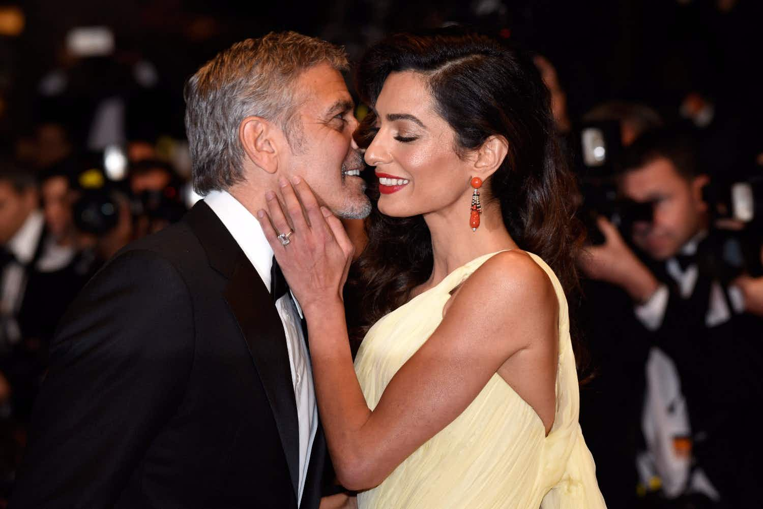 Even George and Amal Clooney have a stressful time flying with babies