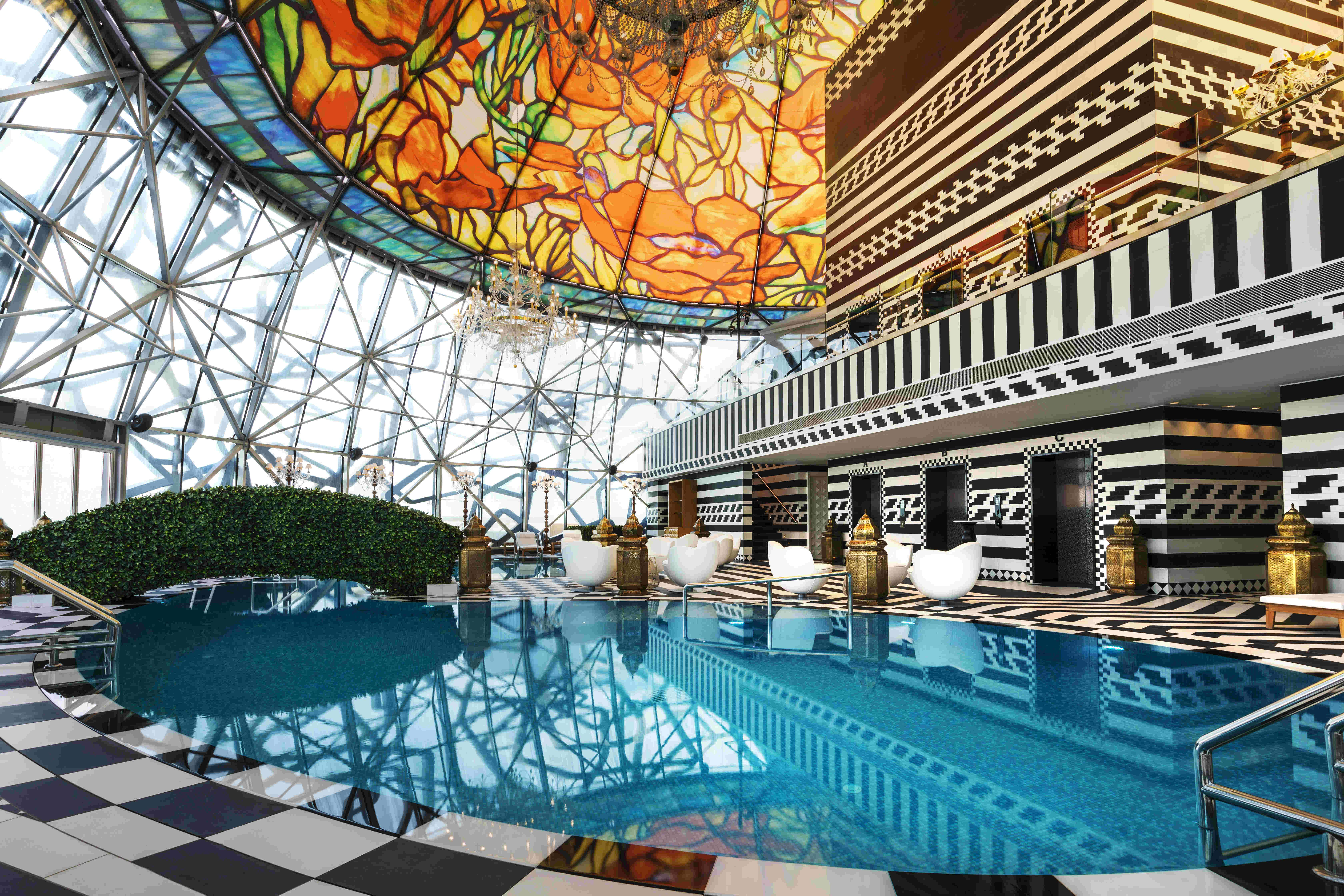 This new hotel in Doha features a kaleidoscope of amazing patterns