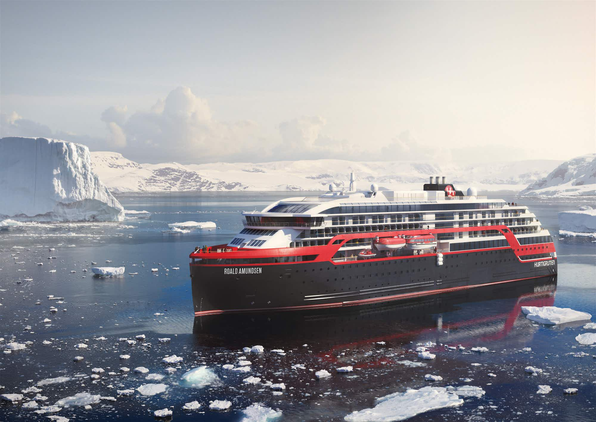 The world's greenest cruise ship will set sail this year
