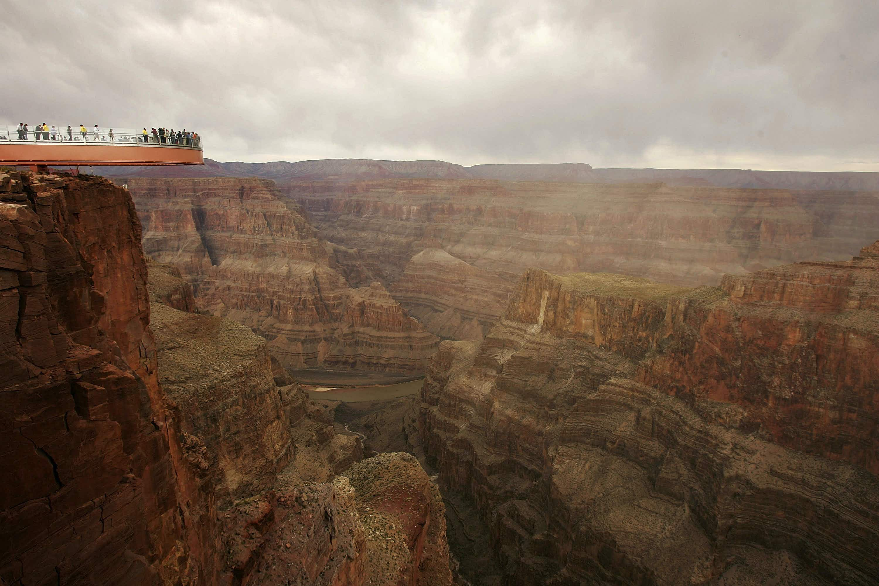 Enjoy Native American cuisine on this Grand Canyon-Vegas helicopter tour