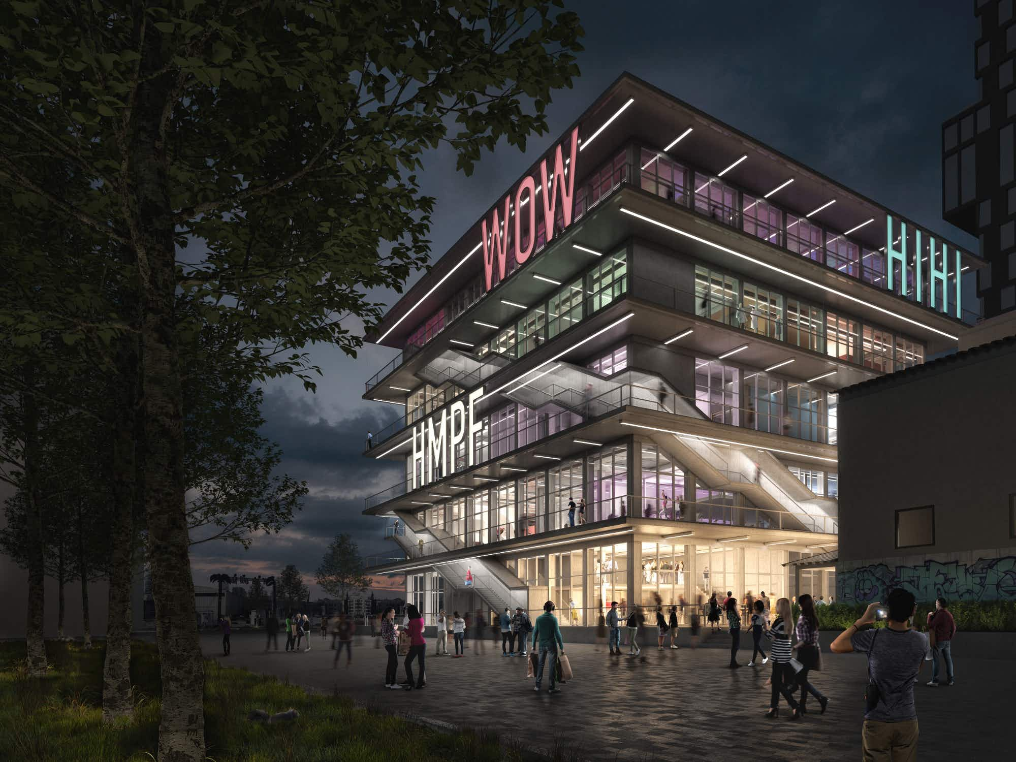 Munich's trendy new development will have 'exclamations' on the front of the building