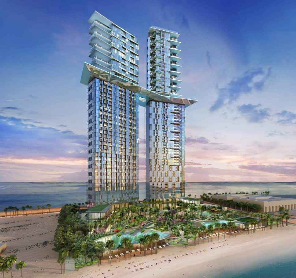 Dubai hotel to feature sky pool 170 metres above the ground