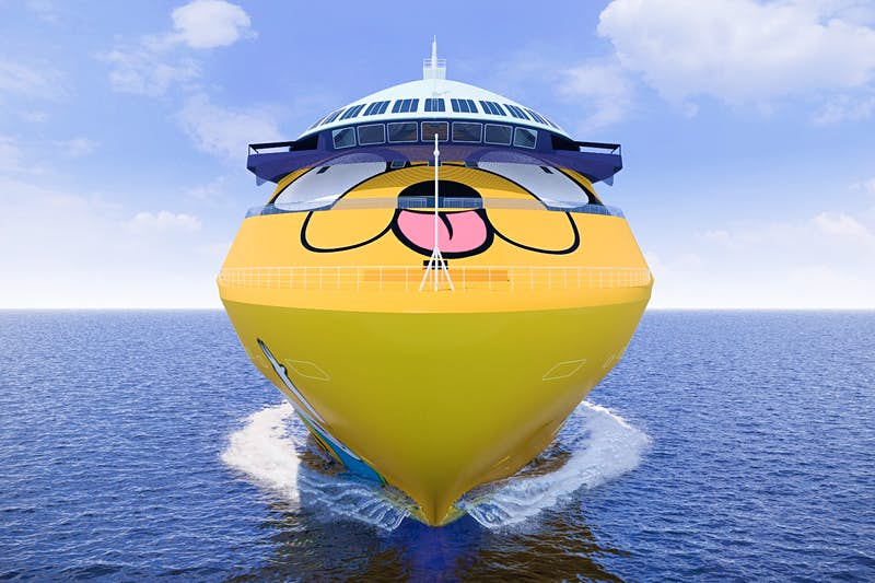 Colourful Cartoon Network cruises are launching for big kids