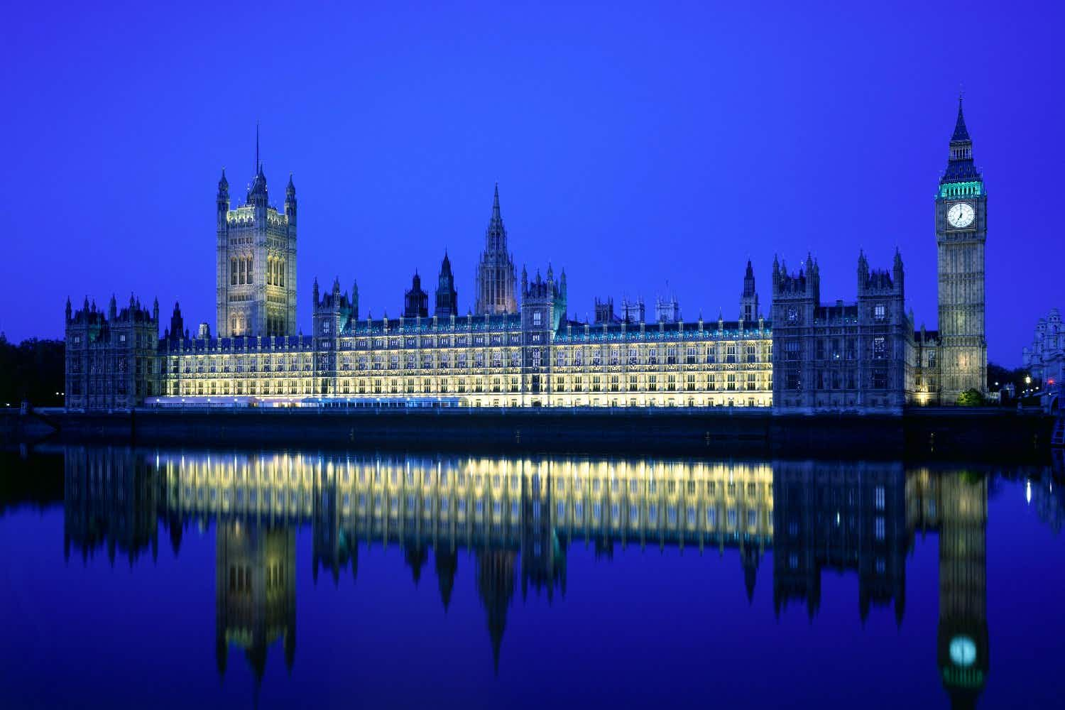 Impress your date with a Valentine's dinner in the Houses of Parliament