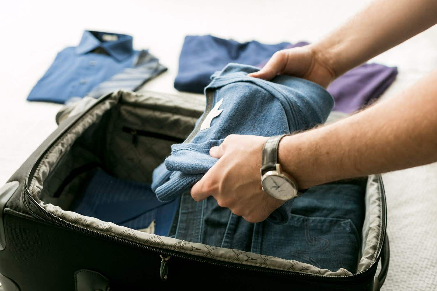 An airline passenger was refused boarding for wearing too much clothing