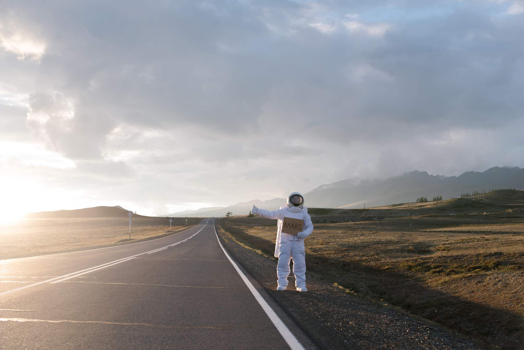 Photographer brings the adventures of a 'lost astronaut' down to Earth