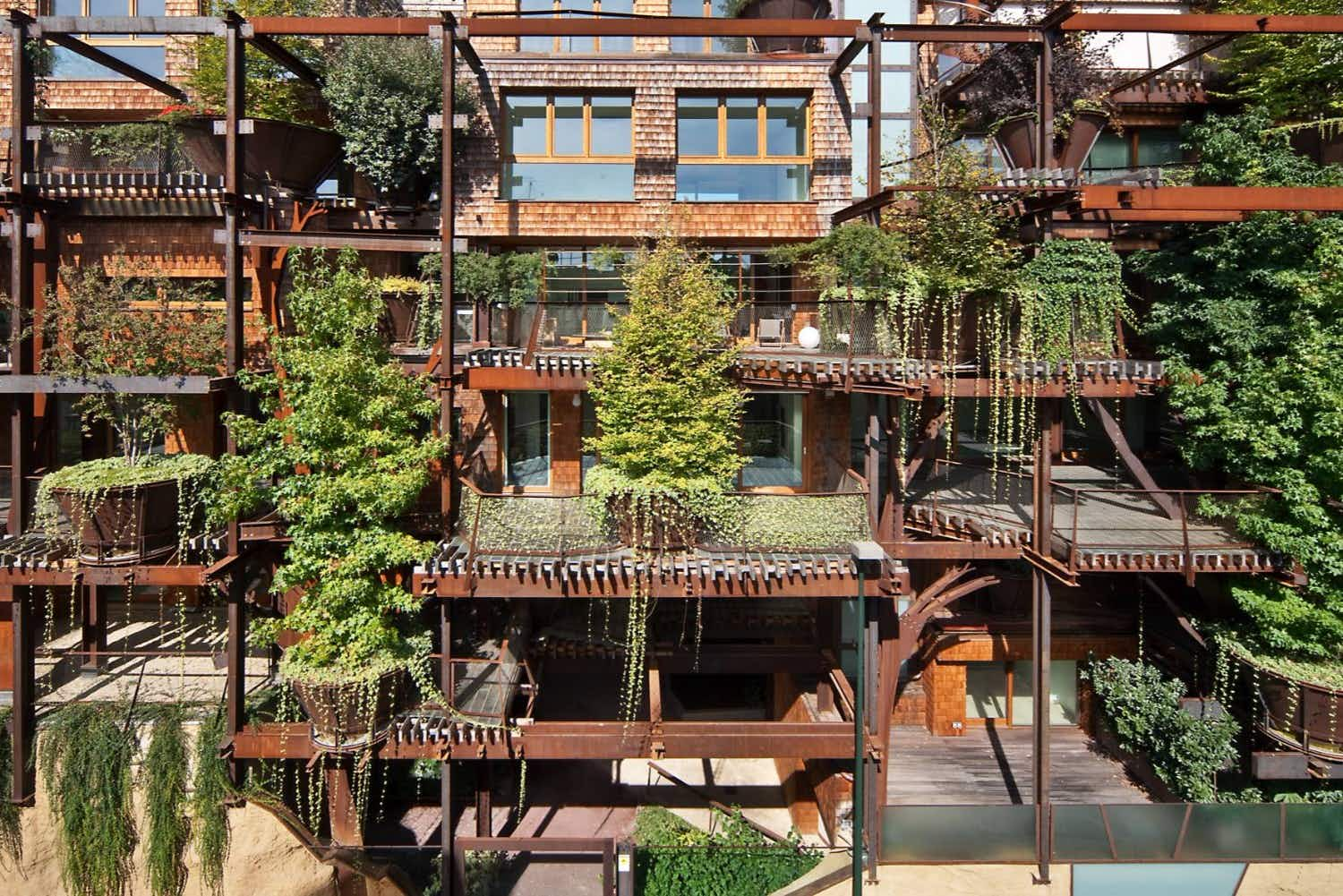 Indulge your childhood dreams by living in this grown-up tree house in Italy