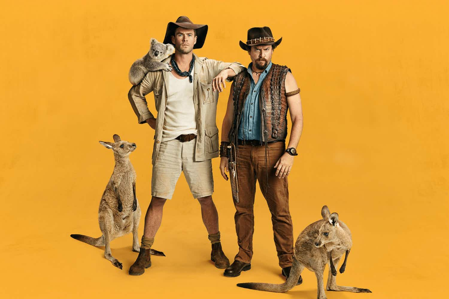 Are the trailers for a new Crocodile Dundee movie a marketing stunt for Tourism Australia?