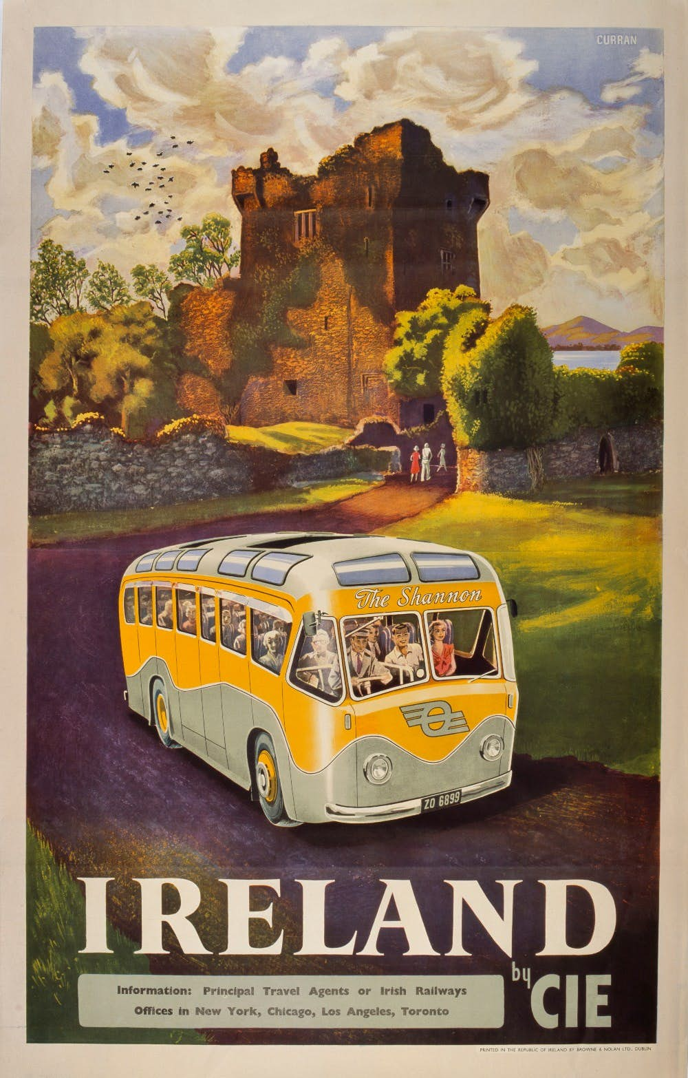 Great Northern Final tie Vintage Railway advertising  Poster reproduction