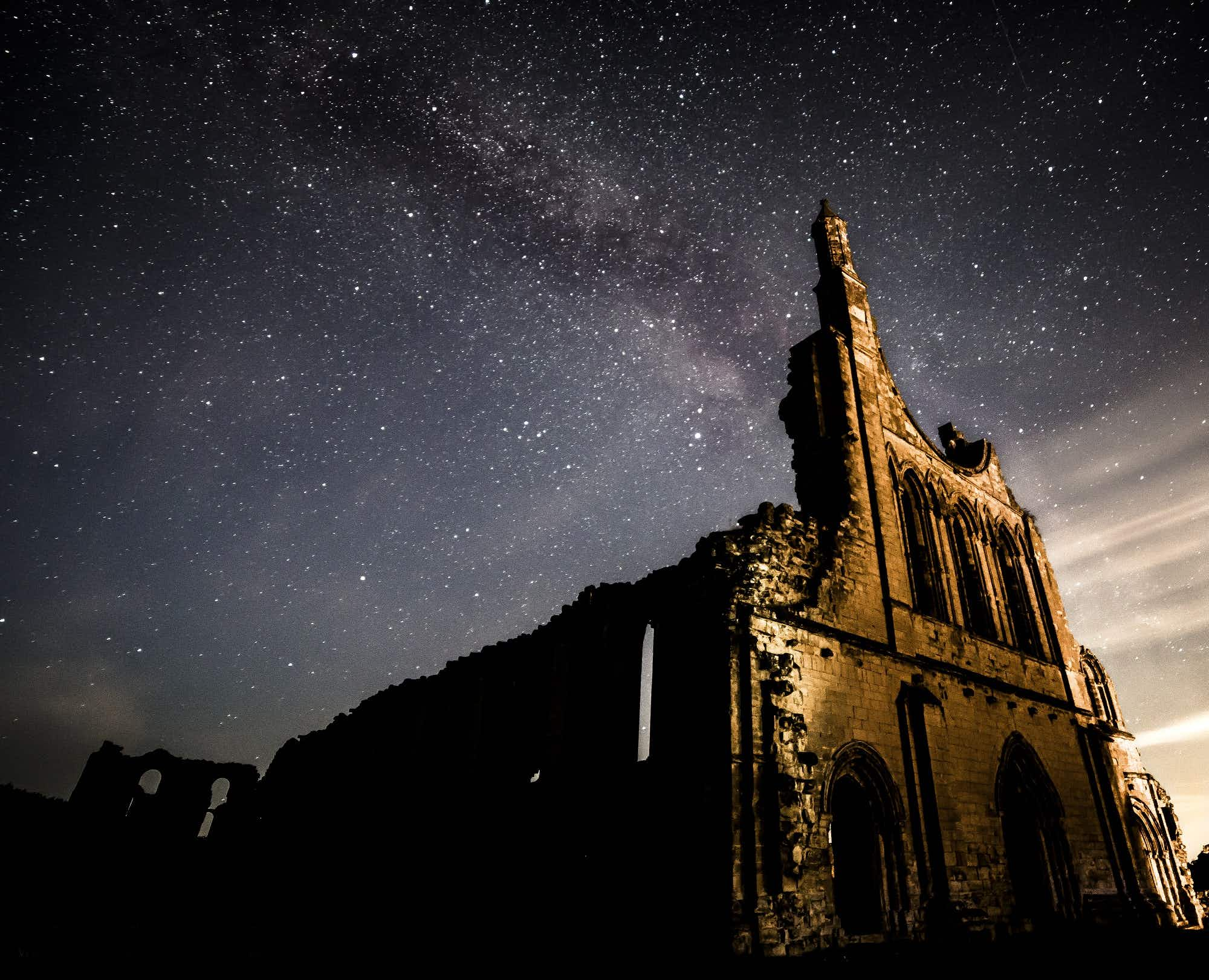 Dark Skies Festival brings night-time zip-lining to the North York Moors