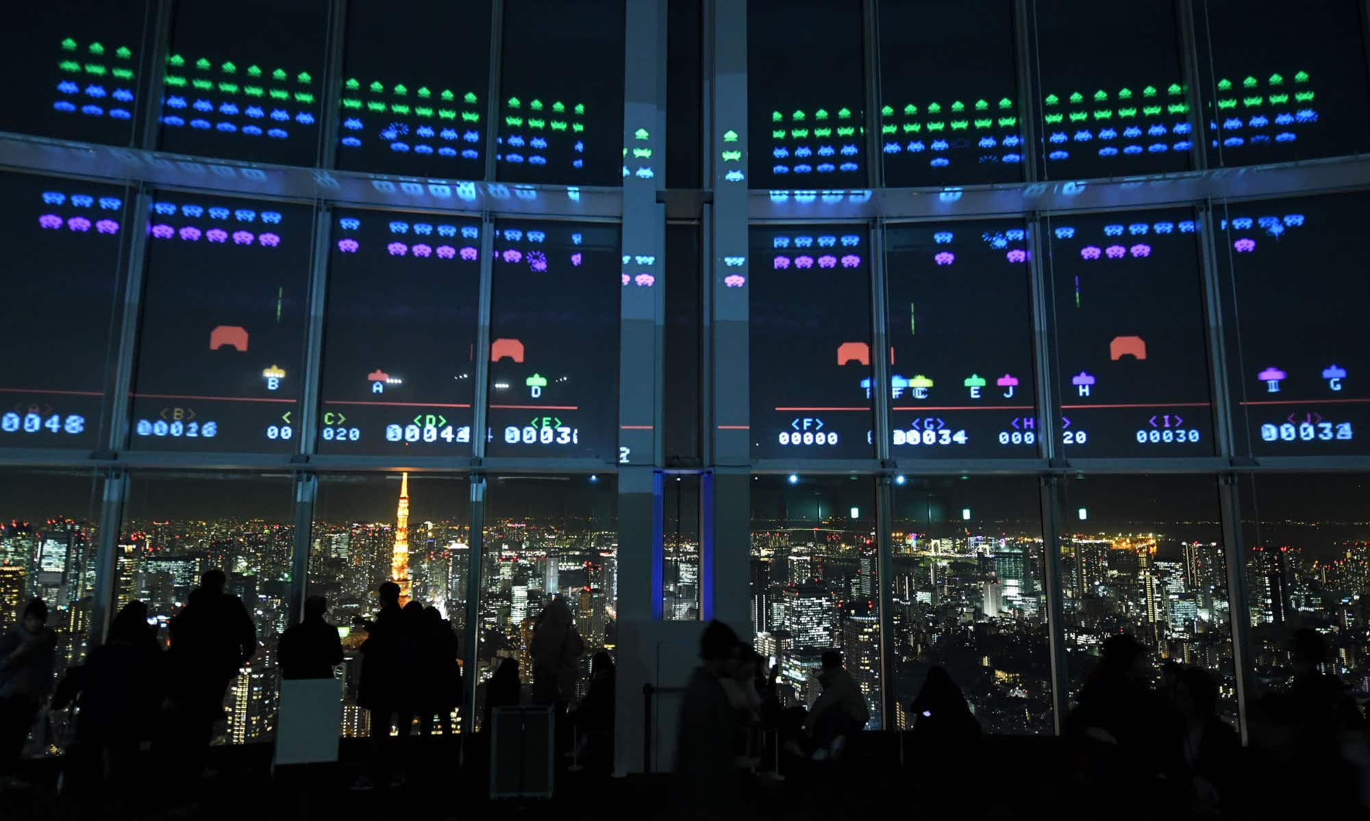 Celebrate 40 years of Space Invaders with a giant game in Tokyo