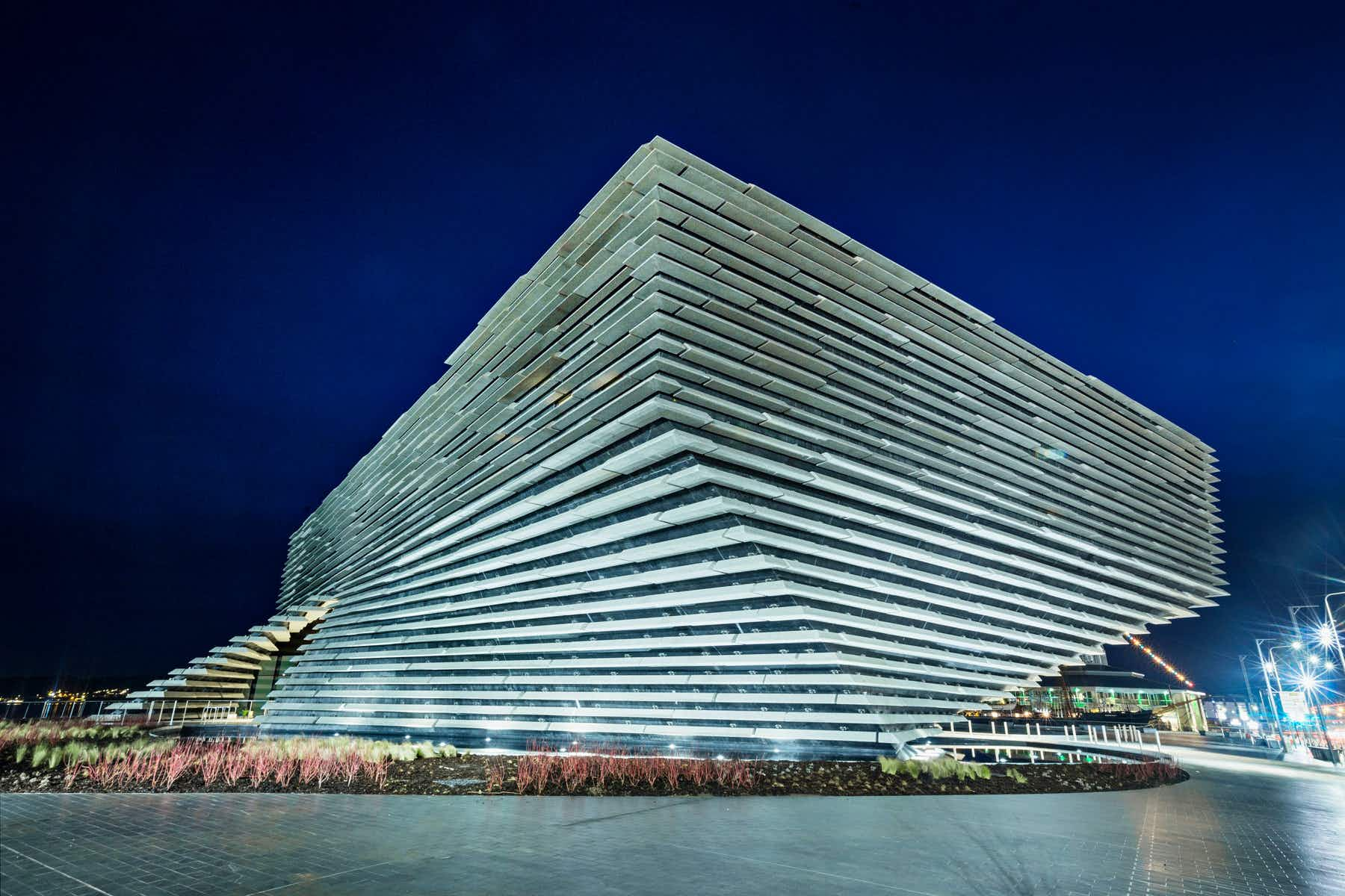 The first V&A museum outside London is opening in Dundee this weekend