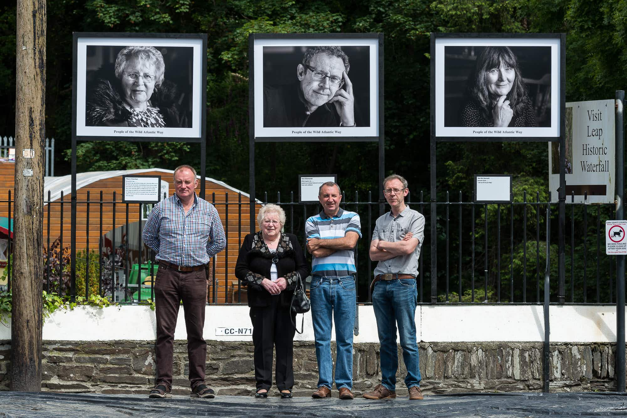 An art project has captured the faces of Ireland's Wild Atlantic Way