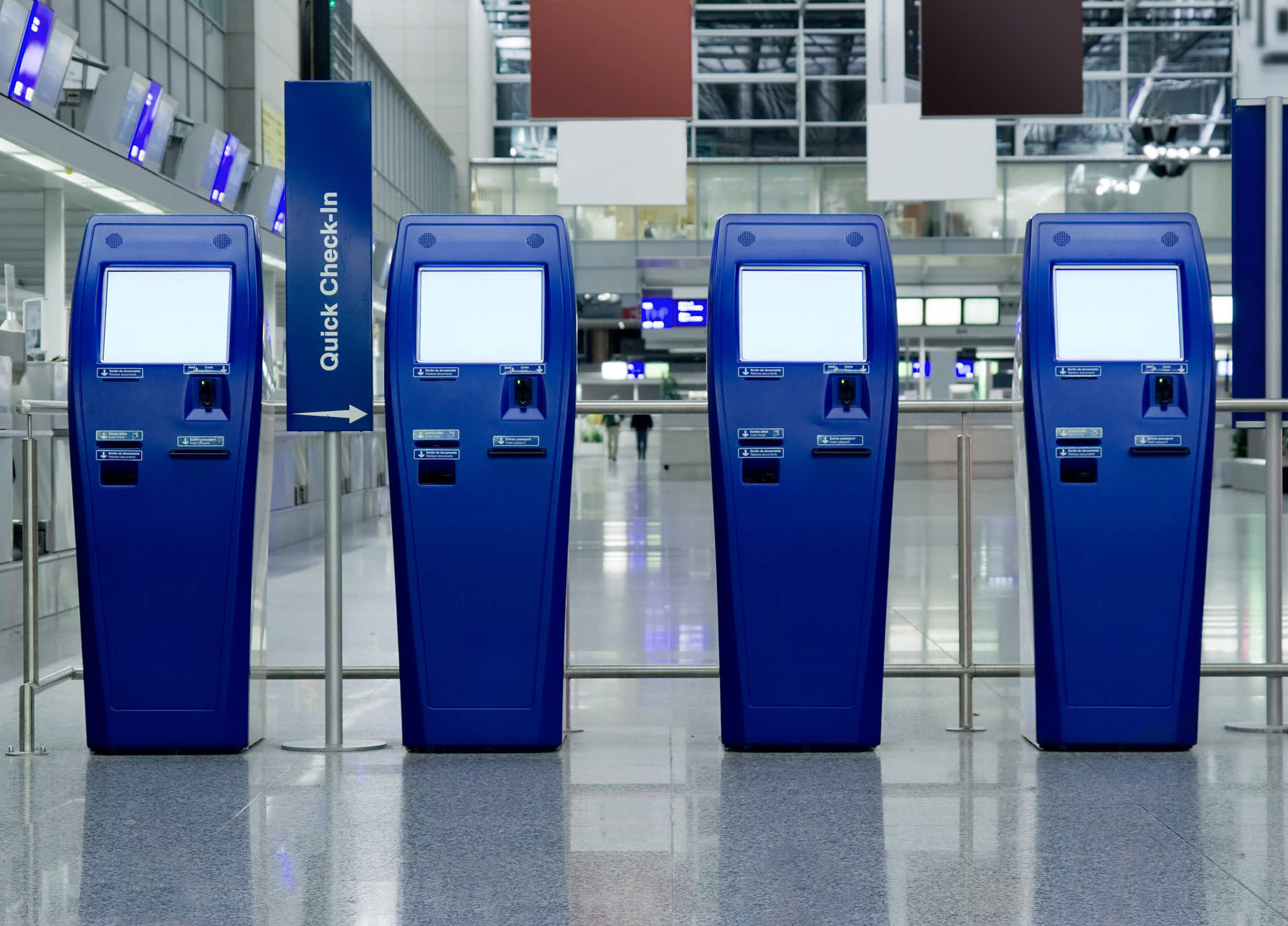 Your favourite airport time-saver might have more germs on it than a toilet